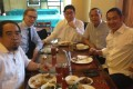"From left: Josel Sy Egco, Alexander Nix, Jose Gabriel ""Pompee"" La Viña, Peter Tiu Laviña, Taipan Millan. Photo: Facebook"