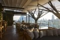 Above Eleven, which offers stunning views of the Thai capital, Bangkok.