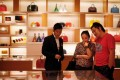 LVMH's first-quarter sales beat expectations and set an upbeat tone for luxury brands thanks to strong China demand for its products, including Louis Vuitton bags. Photo: Reuters