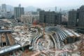 More grade A office space will come on stream in the West Kowloon district. Photo: Roy Issa