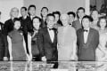 Hu Shi (fourth from left in front row, in a 1944 photo) was a founder of the China Institute in New York. He was a reformer embraced both by the Chinese Communist Party in Beijing and the Nationalists who established the Republic of China on Taiwan. Also pictured are the publisher Henry Luce (second from left in back row) and his mother, Elizabeth Luce (centre in front row).