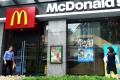 Social media users in China are encouraging consumers to boycott US brands like McDonald's, KFC and Apple. Photo: AFP