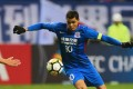 Giovanni Moreno of Shanghai Shenhua in action against Sydney FC during their AFC Champions League group stage match. Photo: AFP