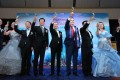 Delegates propose a toast on the Genting Cruise Lines Travel Partners Tribute during the two-night cruise on World Dream.