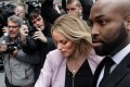 Adult film actress Stormy Daniels (real name Stephanie Clifford) arrives at the federal courthouse in New York on Monday for a hearing for lawyer Michael Cohen, US President Donald Trump's personal lawyer, in which he asked for the identity of one of his clients to remain hidden. Photo: Getty Images via AFP