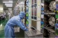 Shares of Chinese chip makers soar on Wednesday trading on the mainland markets. Photo: Reuters