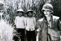 Viet Cong prisoners and American soldiers in Vietnam. Photo: Derek Maitland