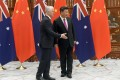 Australian Prime Minister Malcom Turnbull and Chinese President Xi Jinping. Photo: Reuters