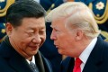 Many pundits fear that escalating trade tensions between China and the United States will turn into a trade war despite the seemingly close relationship between Chinese President XI Jinping and Donald Trump, his American counterpart. Photo: AP