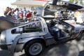 File photo of the DeLorean car from the film 'Back to the Future II' in Los Angeles, California. Photo: Reuters