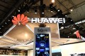 Photo taken on Feb. 26, 2018 shows a screen displaying the 5G technology at the booth of China's telecom giant Huawei during the 2018 Mobile World Congress (MWC) in Barcelona, Spain. Photo: Xinhua