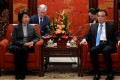 US Secretary of Transportation Elaine Chao and China Premier Li Keqiang met in Beijing on Thursday. Photo: Reuters