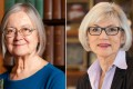 The appointments of Baroness Brenda Hale (left) of Britain and Beverley McLachlin of Canada must be approved by the Hong Kong legislature. Photo: Handouts