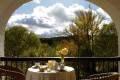 Breakfast at Monasterio de Piedra is best enjoyed from a terrace overlooking the parkland. Picture: Monasterio de Piedra