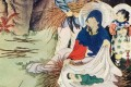 The Birth of Christ, by Chinese painter Lu Hongnian (1914-1989)