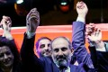 Opposition leader Nikol Pashinyan was elected as Armenia's new prime minister. Photo: Reuters