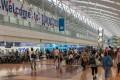 The departure hall of Terminal 2, Haneda International Airport. Photo: Shutterstock