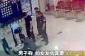 Security camera footage shows the man reclaiming the money at the police station in Hangzhou. Photo: ThePaper.cn
