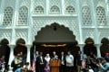 Newly-elected Malaysian Prime Minister Mahathir Mohamad (centre) addresses the media in Kuala Lumpur on May 11. Photo: AFP