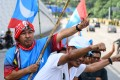 Mahathir Mohamad supporters. Photo: AFP