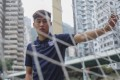 Dai Wai-tsun, who plays for League One side Bury in England, at Southorn Playground in Wan Chai. Photos: Winson Wong
