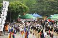 A Korean folk music band performs at a university festival in Seoul in. Photo: Korea Times/Shim Hyun-chul
