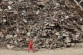 China generated 200 million tonnes of scrap last year. Photo: Reuters