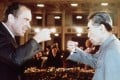 Richard Nixon with Chinese leader Zhou Enlai in 1972. Photo: AFP