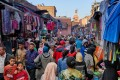 A Berber market in Marrakech, Morocco. Pictures: Alamy