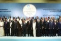 Muslim countries' leaders and observers at an extraordinary summit of the Organisation of Islamic Cooperation in Istanbul on May 18, 2018. Photo: AP