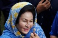Rosmah Mansor: 'There are some accessories and clothes that I have bought with my own money. What is wrong with that?' File photo: Reuters