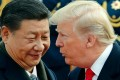 Chinese President Xi Jinping and US President Donald Trump. Photo: AP