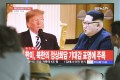 The meeting between Donald Trump and Kim Jong-un was scheduled for June 12 in Singapore but the US president cancelled it on Thursday. Photo: Kyodo