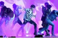 BTS perform during the 2018 Billboard Music Awards at the MGM Grand Garden Arena in Las Vegas on May 20. Photo: Ethan Miller/Getty Images/AFP