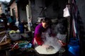 The street food favourite has become popular across China. Photo: AFP