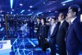 Financial Secretary Paul Chan (second from right) and other members of the Financial Secretary's Office attend the China International Big Data Industry Expo in Guiyang on May 26. Photo: Handout