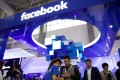 A booth of social media giant Facebook is seen at the China International Big Data Industry Expo in Guiyang, capital of the southwestern province of Guizhou, on May 27. Photo: Reuters