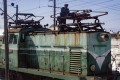 An engineer fine tunes an electric locomotive in North Hamgyong province. Pictures: Ayesha Sitara
