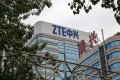 The ZTE building is seen in Beijing, China, on May 24. Photo: Bloomberg