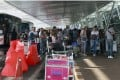 Queues at Phuket International Airport are often excruciating.