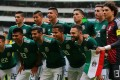Mexico pose prior their friendly against Scotland at Estadio Azteca. Photo: AFP