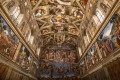 Ceiling of the Sistine chapel in the Vatican Museum, Vatican City. Photo: Shutterstock