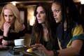 Sandra Bullock stars in Ocean's 8, alongside Sarah Paulson (left) and Rihanna.