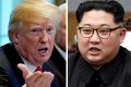 US President Donald Trump and North Korean leader Kim Jong-un are both known for their hairdos. Photo: Reuters