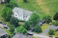 FBI agents raid the home of Kevin Mallory outside Washington in 2017. Photo: ABC 7
