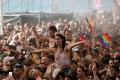 Revellers take part in a gay pride parade in Tel Aviv. Photo: Reuters