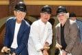Meir Teper, chef Nobu Matsuhisa and Robert De Niro attend the Nobu Toronto groundbreaking ceremony in Toronto on June 11. Photo: George Pimentel/WireImage