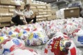 Customs officials across the country have seized hundreds of thousands of fake World Cup products. Photo: Chinanews.com