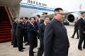 North Korean leader Kim Jong-un arrives in Singapore on Sunday ahead of the summit. Photo: AFP