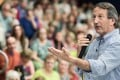 Representative Mark Sanford addresses a crowd during a town hall meeting last year in Hilton Head, South Carolina. Photo: AFP/Getty Images